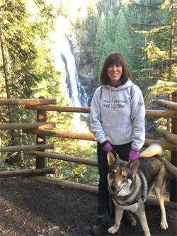 Beth and Rico Swedish Elkhound Male