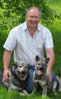 Merv with Takoda and Young Shasta