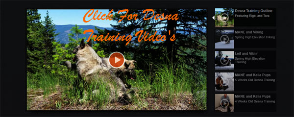 Click To View Desna Training Videos